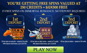 Euro Palace Casino free spins