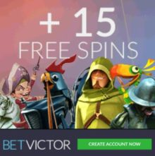 BetVictor Casino free spins