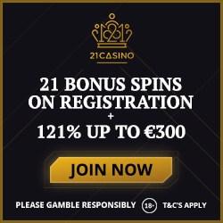 21 Casino No Deposit Bonus 21 Free Spins On Book Of Dead