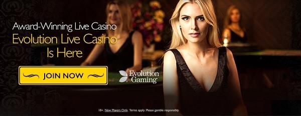 Live Dealer Games at GrandIvy.com