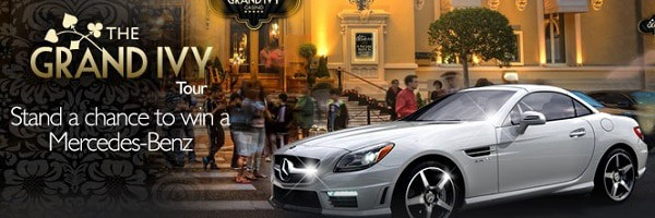 Grand Ivy Casino - win a car (Mercedes Benz)