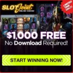 SlotJoint Casino – $1000 bonus & free spins – no download required