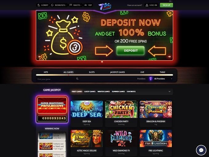 7Bit free spins bitcoin casino bonus