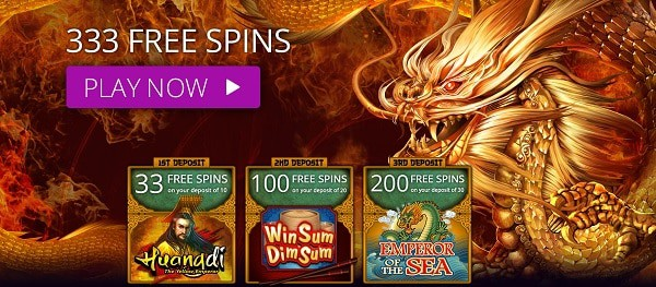 333 Free Spins