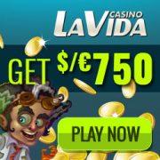 Casino La Vida free spins bonus