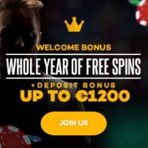Shadow Bet Casino | €1200 bonus and 520 free spins | mega jackpots!
