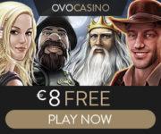 OVO Casino free bonus