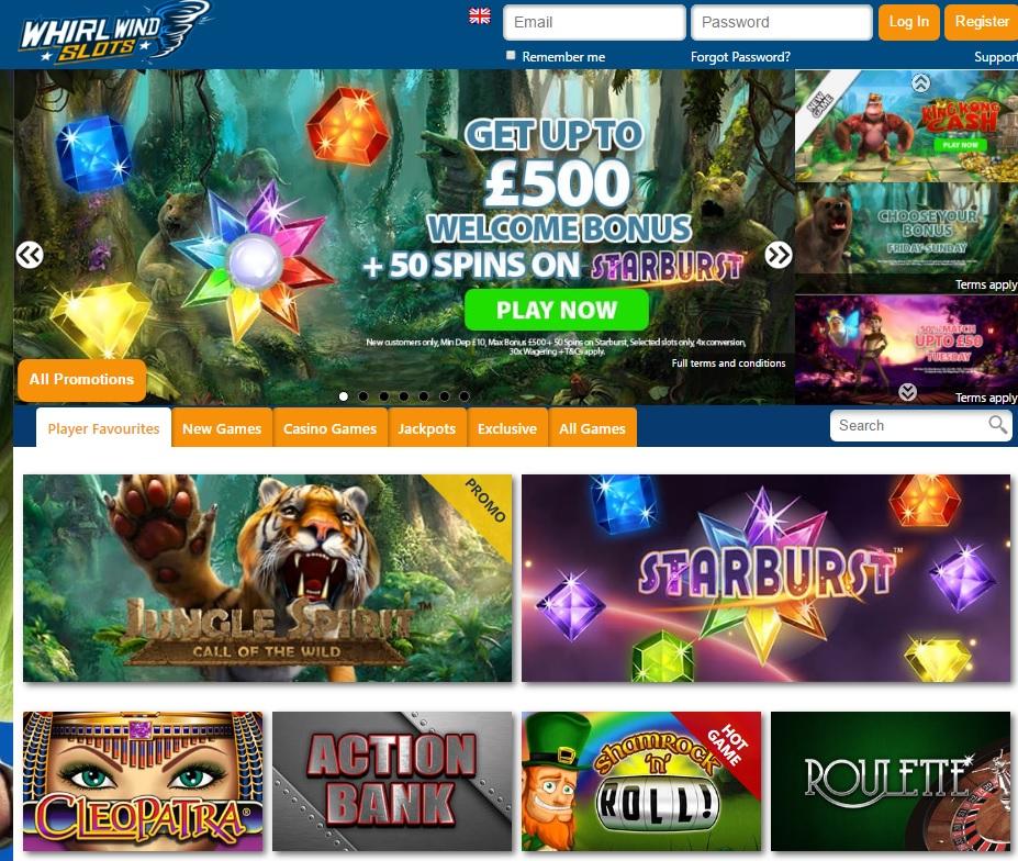 Whirl Wind Slots Casino