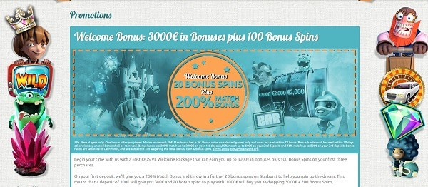 3000 EUR bonus and 100 free spins after deposit at Spin Station Casino