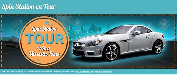 Win a Car at SpinStation!