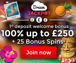 Dream Jackpot Casino banner