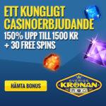 SverigeKronan Casino – 30 gratis spins och 1500 SEK free bonus