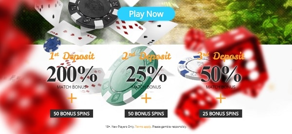 Casimba Casino welcome bonus and free spins