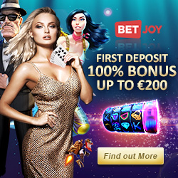 BETJOY- 25 free spins and 100% free bonus on casino & sportsbook
