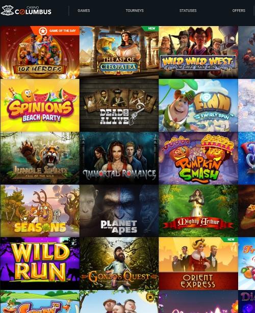 Columbus Casino Online & Mobile