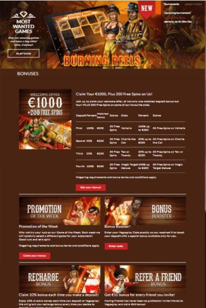 Vegas Play Online Casino Review