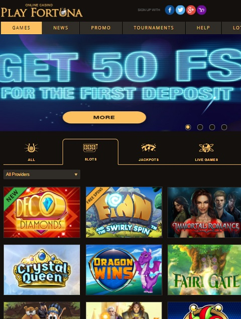 playfortuna no deposit