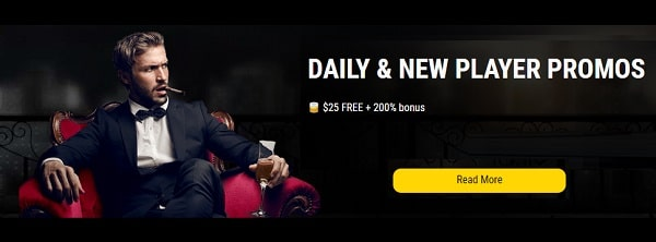 Daily offers to casino games