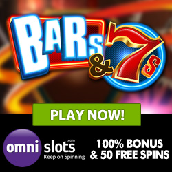 Omni Slots Casino 50 free spins & 100% free bonus on sign-up