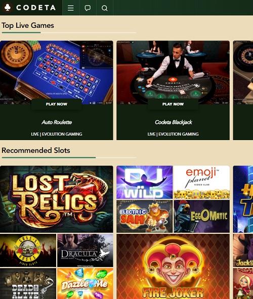 Codeta.com Free Spins Bonus