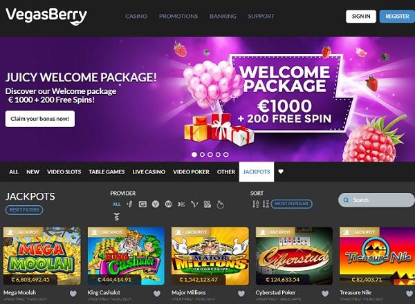 Vegas Berry Casino Review