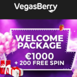 Vegas Berry Casino 200 free spins   375% up to €1,000 welcome bonus
