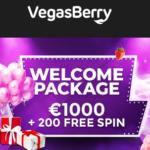 Vegas Berry Casino 200 FS and €1,000 bonus - CLOSED!
