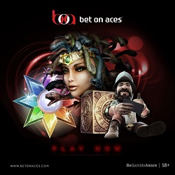 Bet On Aces £150 free bonus on sportsbook & games - UK Casino