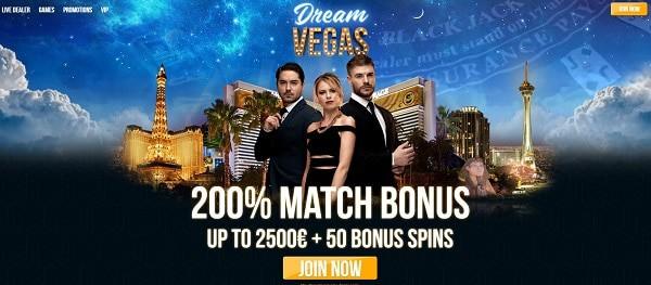 200% welcome bonus