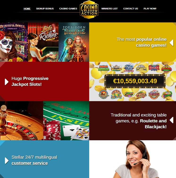 Casino Action Free Play Games