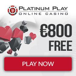 Platinum Play Casino 50 free spins no deposit bonus