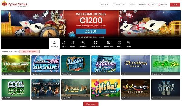 Royal Vegas Online Casino 120 free spins exclusive welcome bonus (Bonus Wheel)