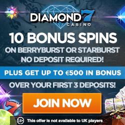 Diamond 7 Casino Free Spins