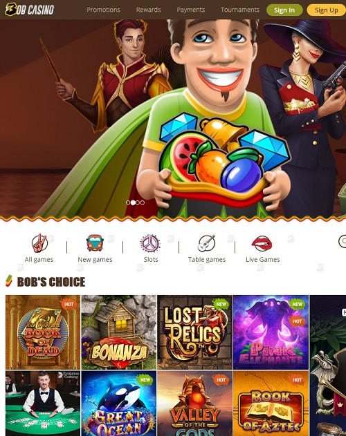 Bob Casino Review
