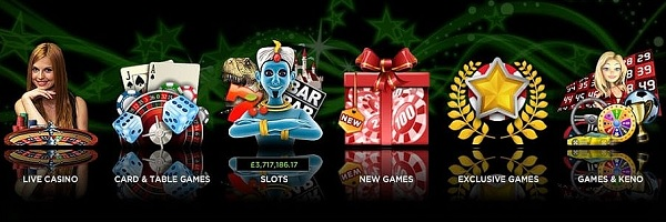 888Casino games and live dealer