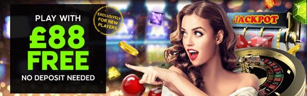 888Casino 88 free spins gratis