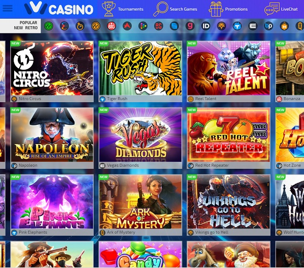 Ivi Casino online and mobile games Review