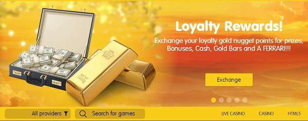Loyalty Rewards, promotions, bonuses