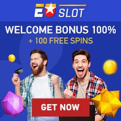 EUSLOT.com Casino - 100 free spins & 100% welcome bonus