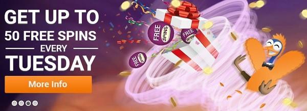 Emu Casino 50 free spins