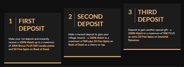 Deposit and Withdraw Money at Jackpot Village Casino