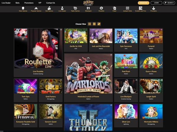 Jackpot Village Casino Reviews