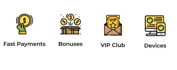 Aussie Play support, banking, bonuses