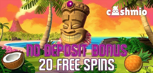 20 free spins on Aloha! Cluster Pays no deposit required