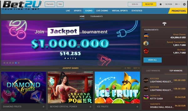 Bet2u Casino Free Spins Bonus Codes Freebets Promotions
