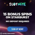 Slotnite Casino Review 15 free spins bonus no deposit needed