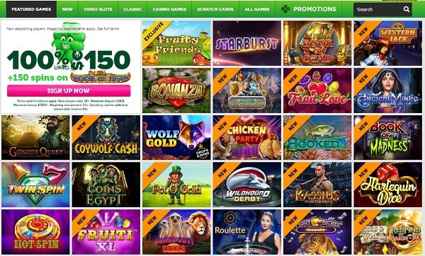 Casino Luck free spins on deposit