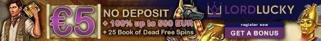 Lordy Lucky Casino 100% free bonus, free spins, no deposit bonuses | Fast payouts | NetEnt, Microgaming