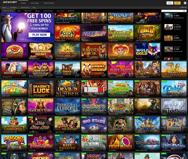 MrFavorit.com Casino Review