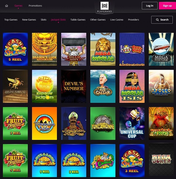 Play Grand Casino Review